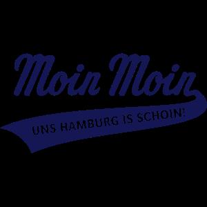 Moin Moin – Uns Hamburg Is Schoin! (Plattdeutsch)