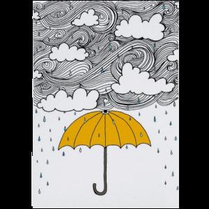 Regen - Regenschirm - Wetter - Regenschirm - Regen - Wetter