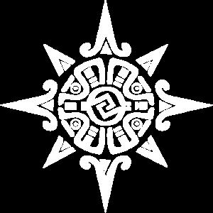 Montezuma Azteken Krieger Symbol