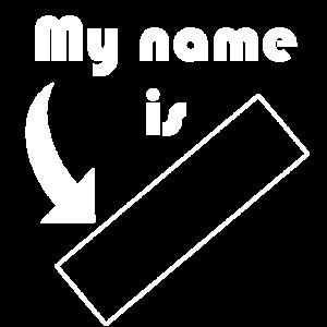 Mein Name ist ... anpassbar