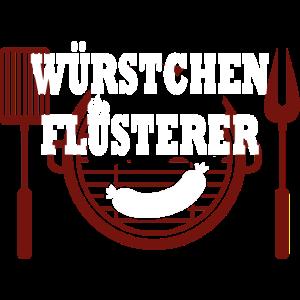Würstchen Flüsterer Grillen Bratwurst Lustig Grill