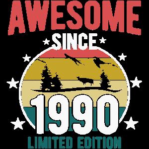 Jahrgang 1990 30.Geburtstag Geschenk
