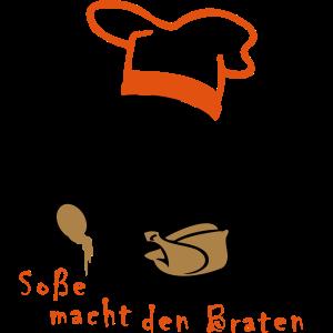 Comic Koch Gänsebraten