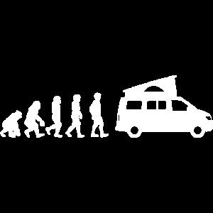 Evolution Bus Kalifornien T-Shirt, Geschenk