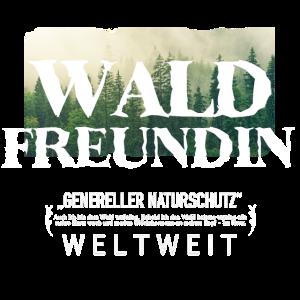 Wald Freundin