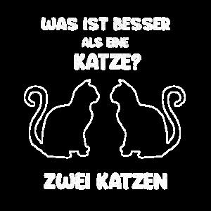 Was ist besser als eine Katze zwei Katzen