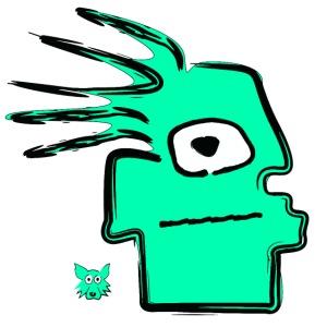 geen tribal puppet