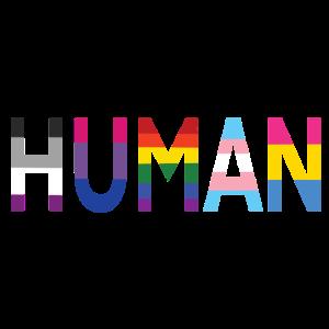 HUMAN SCHRIFTZUG