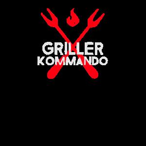 Griller Kommando grillen griller grill Holzkohle