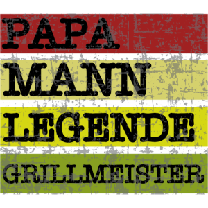 Papa Mann Legende Grillmeister