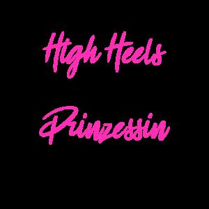 Vergiss High Heels Prinzessin Trägt Wanderschuhe B