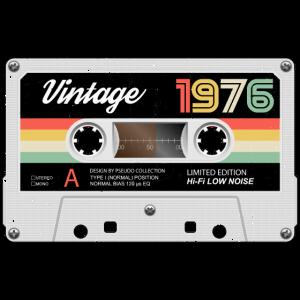 Vintage Kassette 1976 Retro Classic Geburtstag