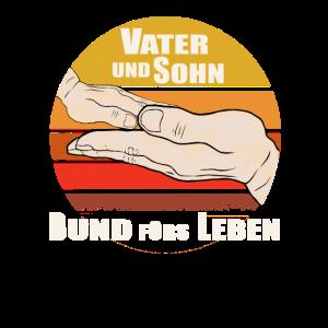 Vater und Sohn Bund fürs Leben | Papa | Hände