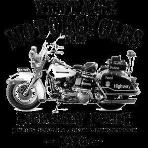 Vintage Motorräder FLHP 1980 Touring Police