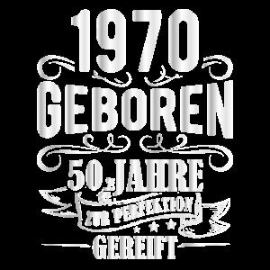 50. Geburtstag Männer Perfektion August 1970