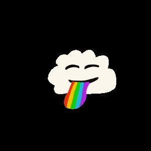 Wolke Regenbogen