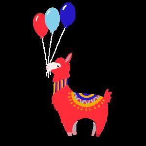 Lama Ballon