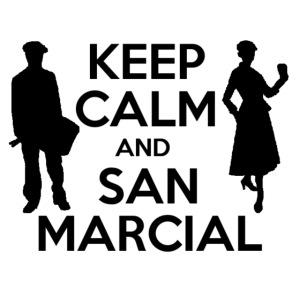 Soldado Cantinera Keep Calm Negro