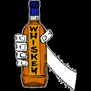 Whiskey Rockn Roll Rockabilly Hardrock Punkrock