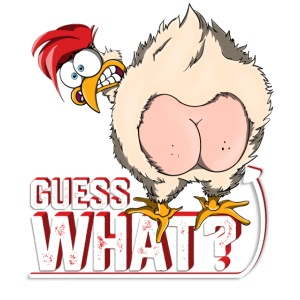 GuessWhat Chicken Butt | Chicken Lover Farm