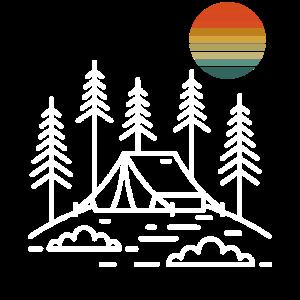 Keep it Simple Retro Natur Vintage Camping Reisen