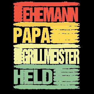 Grillmeister Ehemann Papa Held