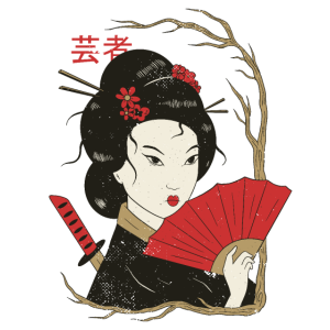 Geisha Japanische Kunst Frau