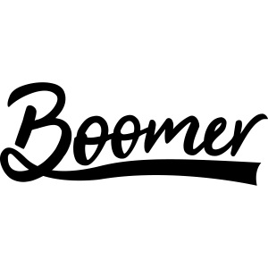 Boomer with 1 editable text color