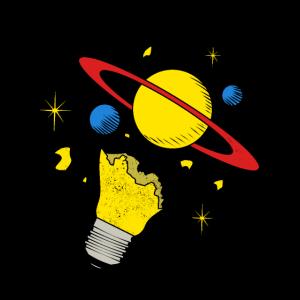 Planet Vintage Weltall Universum Umlaufbahn All