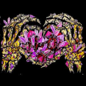 Liebe Kristall gruselig