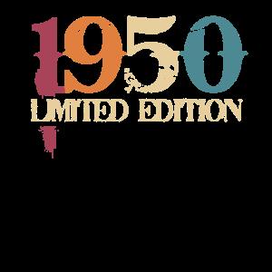 70. Geburtstag 70 Jahre Geschenk Jahrgang 1950