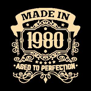 1980 Geburtstag gereift zur Perfektion