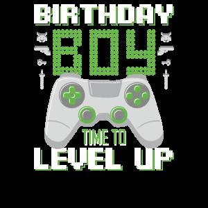 Geburtstag junge Zeit, um Level Up Videospiel Gebu