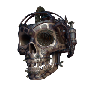Steampunk Totenkopf
