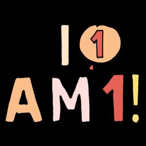 Ich bin 1 - erster Geburtstag