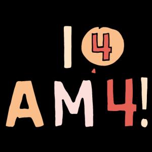 Ich bin vier