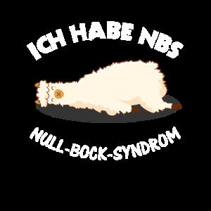 NBS - Null Bock Syndrom - Alpaka