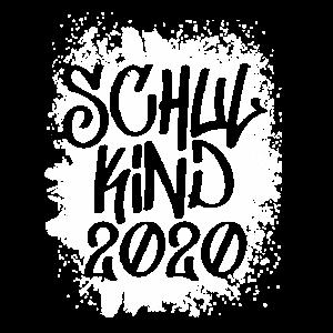 Schulkind 2020 splash