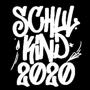 Schulkind 2020 graffitti Grundschule 1. Klasse