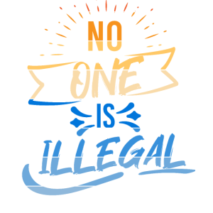 No One is Illegal Geschenk