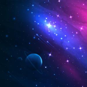 Weltraum Muster