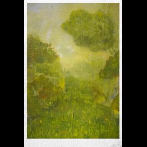 Landschaft Poster