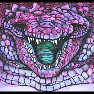 Alligator Violett