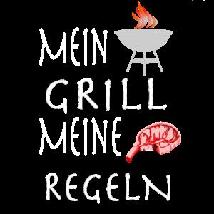 Mein Gril lMeine Regeln Grillshirt