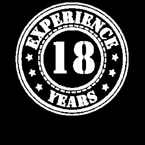 18 jahre Erfahrung
