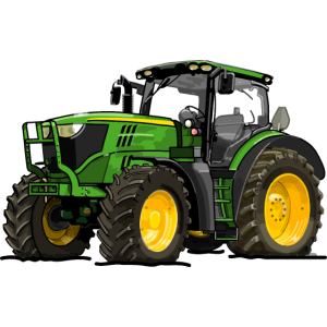 Traktor gruen