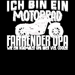 Ich bin ein Motorradfahrender Opa T-Shirt