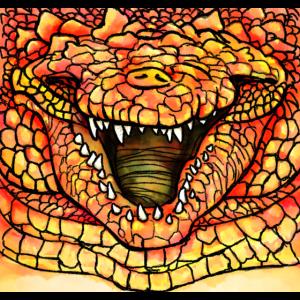 Alligator Orange