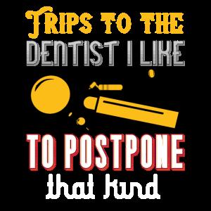 Solche Zahnarztbesuche möchte ich aufschieben