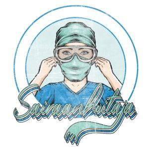 Vintage sairaanhoitaja